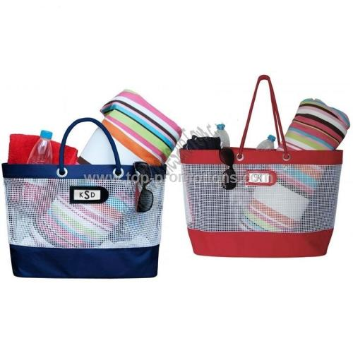 Large Beach Mesh Tote Bag