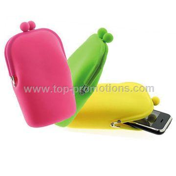 Silicone coin purse