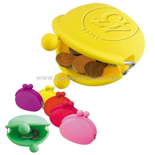 Fashion ladies silicone coin purse