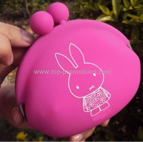 Colorful Cute Silicone Coin Purs