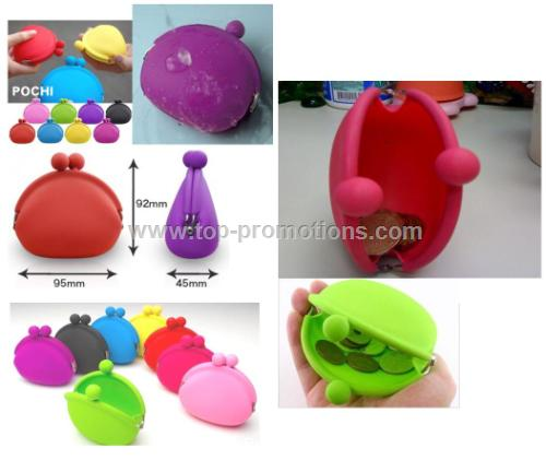 Colorful Cute Silicone Coin