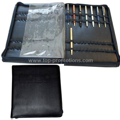 Zippered Pen Case Storage, Displays