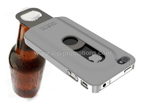 The Opena iPhone 4 Case With Slide Out Bottle Open