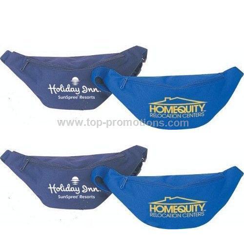 Polyester zipper fanny pack