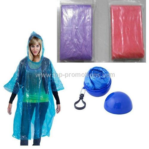 poncho in ball