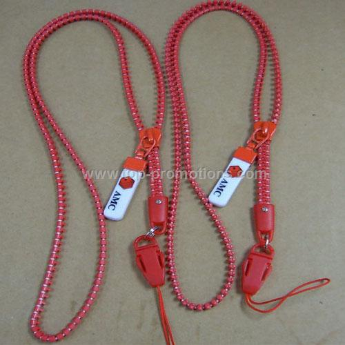 Zipper Lanyard
