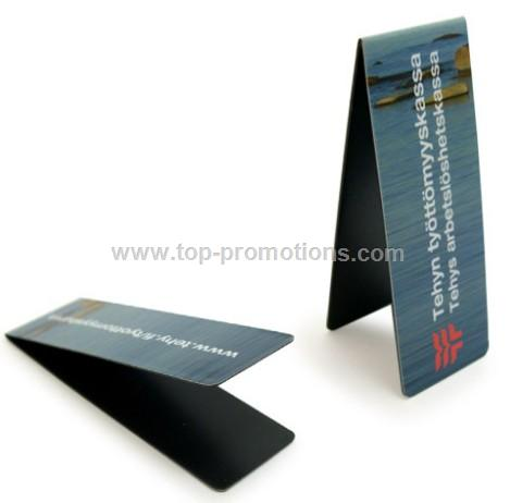 Magnetic Bookmarks with Small Round Corners
