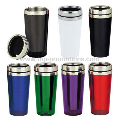 Translucent Tumbler with Metal Lid