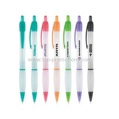 CLEAR FROST logo pens
