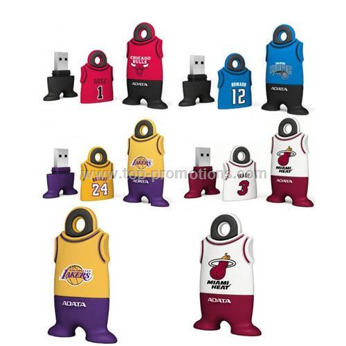 NBA Jersey USB Flash Drives