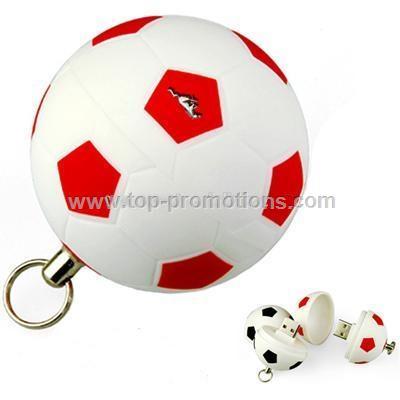 Soccer Ball USB Flash Drive