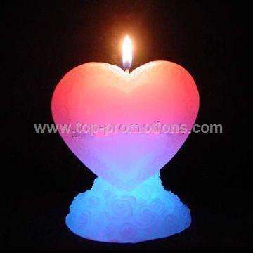 valentine day series led candel