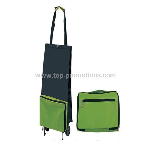 Briefcase Foldable Shopping Trolley