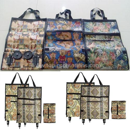 Jacquard Oxford Shopping Cart