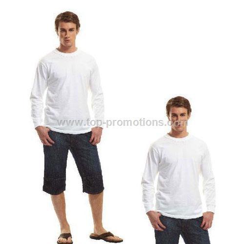 Crewneck Bamboo T-Shirt - Long Sleeve