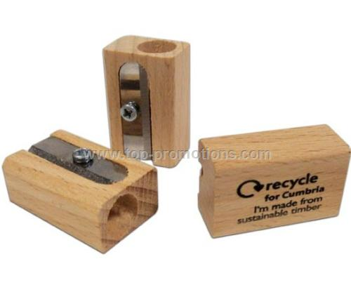 Sustainable Wood Pencil Sharpeners