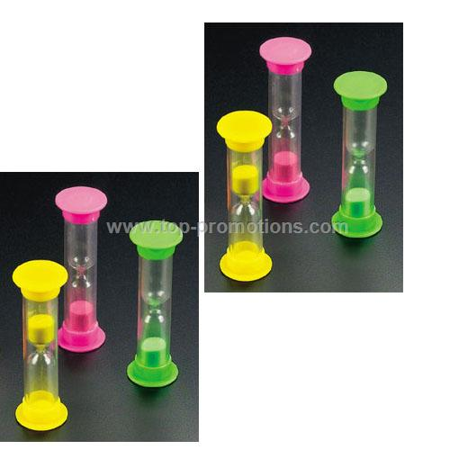 Assorted color Sand Timers