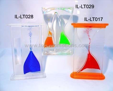 Liquid sand timer