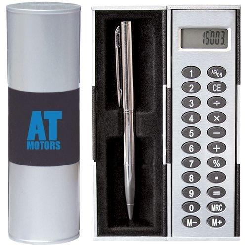 Custom Calculator and Pen