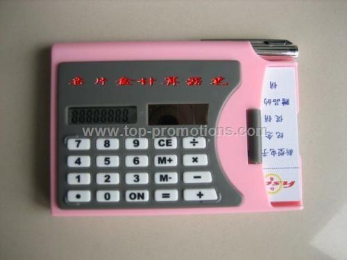 Cardcase Calculator pen