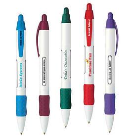 Retractable ballpoint message pen