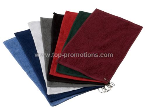 Trifolded Velour Golf Towels