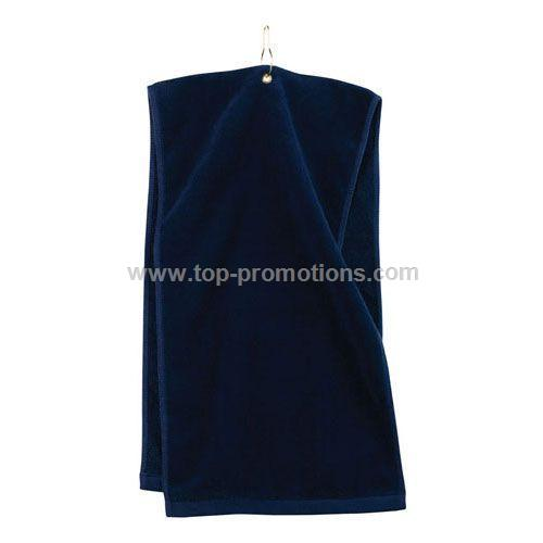Doubletime 2-Layered Velour Golf Towel