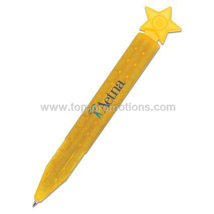 Theme Toppers Magnetic Pen Star