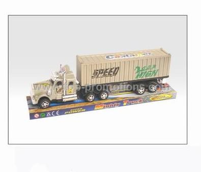 friction container truck