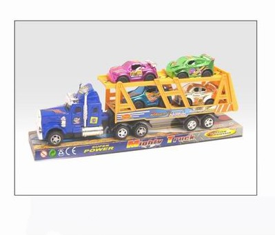 Friction car toy