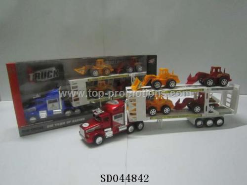 Friction container truck Toys