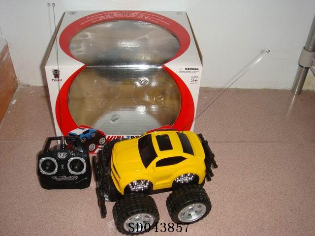 R/C 4 function car