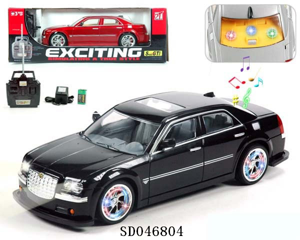 4 function R/C cars