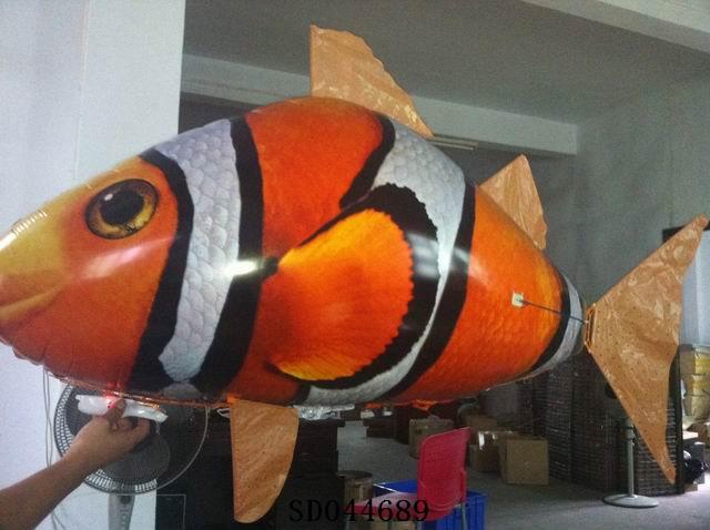 R/C Flying Clownfish