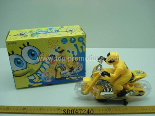 B/O motorcycle toy