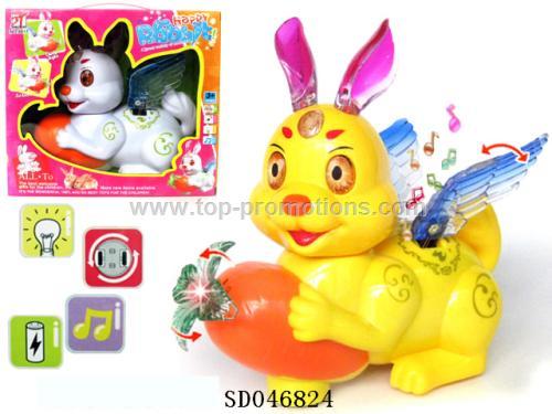 B/O Rabbit Toy