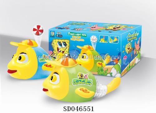 B/O Fish toys