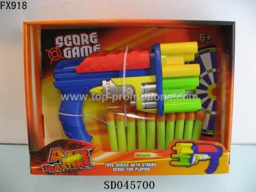 Soft bomb gun