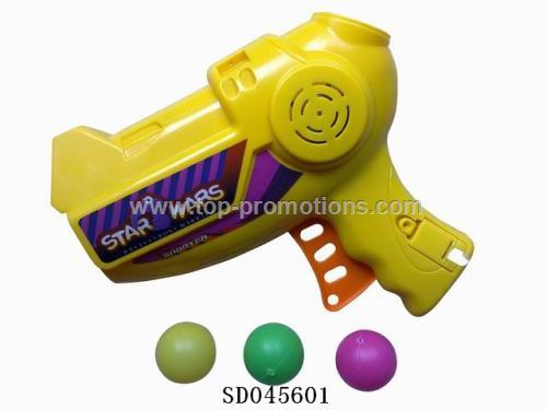 Ping-pong gun