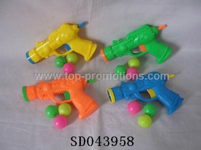 Ping-pong gun toys