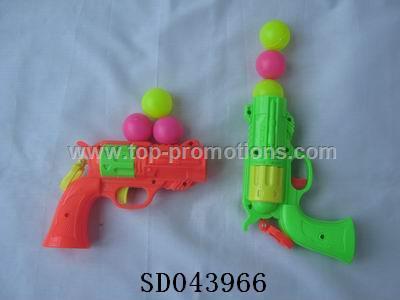 Ping-pong guns