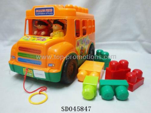 Bricks truck toy