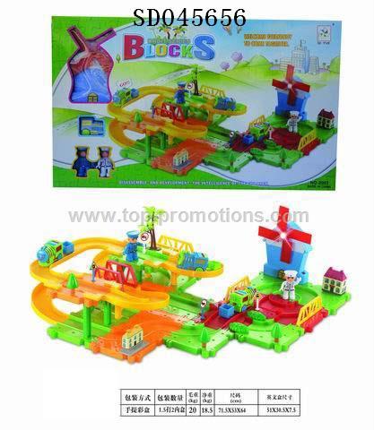 Track blocks Toys