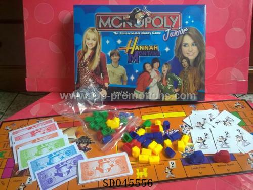 Monopoly building blocks