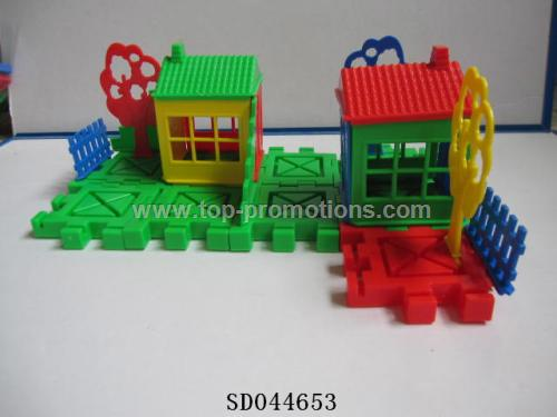 House bricks toy
