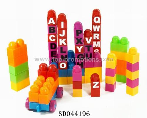 Character bricks toy