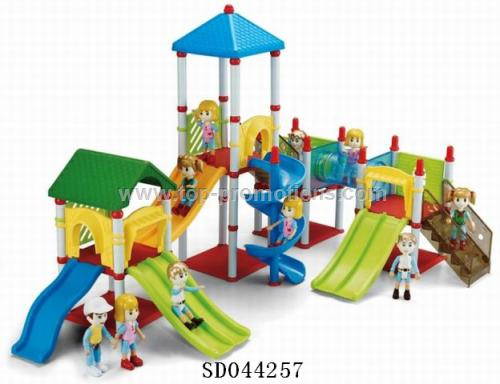 Fairground bricks toy