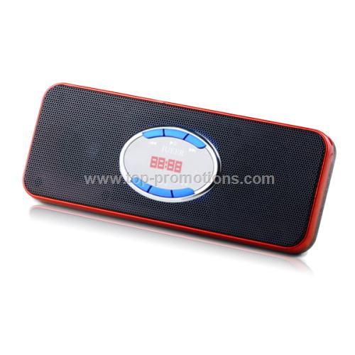 Portable Speaker with Plug-and-play Functions and