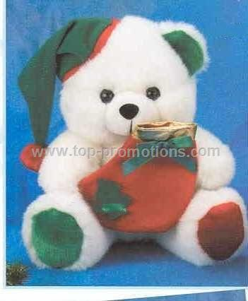 Christmas Bear With Stocking