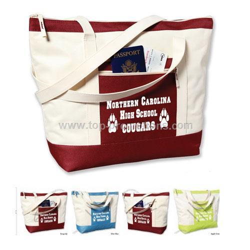 Jumbo Zip Tote Bag